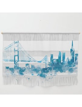 San Francisco Wall Hanging by Society6