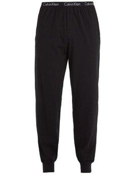 Logo Print Stretch Cotton Pyjama Trousers by Calvin Klein Underwear