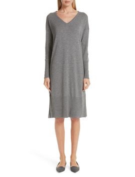 Cashmere & Silk Sweater Dress by Lafayette 148 New York
