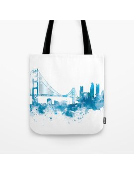 San Francisco Tote Bag by Society6