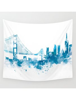 San Francisco Wall Tapestry by Society6