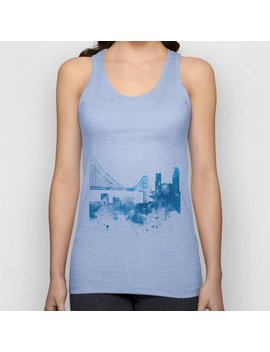 San Francisco Unisex Tank Top by Society6