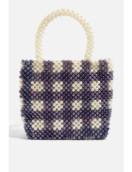 **Penelope Check Tote Bag By Skinnydip by Topshop