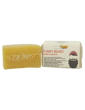 1 Piece Beard And Body Shampoo Bar 100% Natural Handmade 65g by Funky Saop