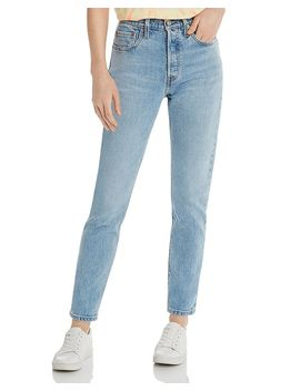 501 High Rise Skinny Jeans In Tango Light by Levi's