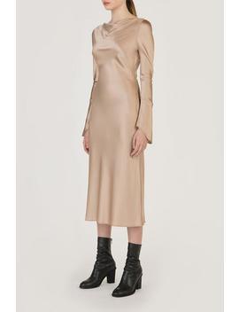 Long Sleeved Silk Dress by Genuine People