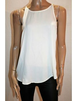 Cotton On Brand White Chiffon Strappy Tank Top Size S Bnwt #Tp102 by Cotton On