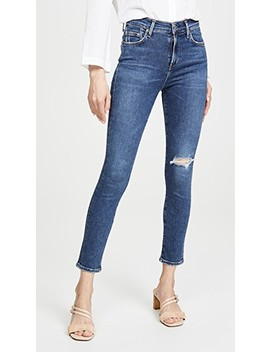 Rocket Crop Mid Rise Skinny Jeans by Citizens Of Humanity