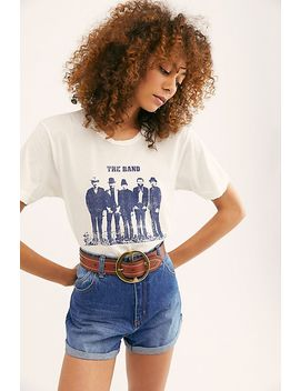 Band Portrait Photo Tee by Midnight Rider