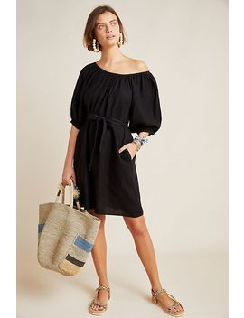 Alanna Off The Shoulder Tunic Dress by Velvet By Graham & Spencer