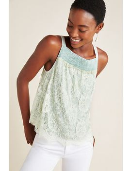Freni Lace Tank by Bl Nk