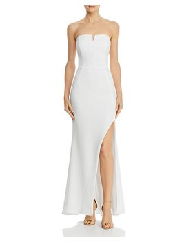 Crepe Bustier Gown   100% Exclusive by Aqua