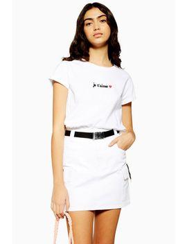 J'taime T Shirt by Topshop