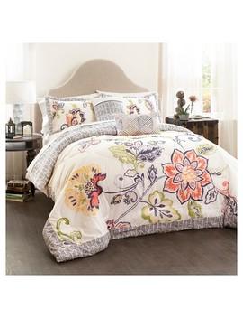 Aster Quilted Comforter Set   5 Piece Lush Décor® by 5 Piece Lush Décor®