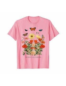Cute No Rain No Flowers Women T Shirt by Cute No Rain No Flowers Women Tee Shirt