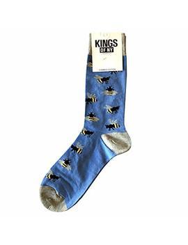 Cute Animal Funny Novelty Mens Cotton Socks by Kings Of Ny