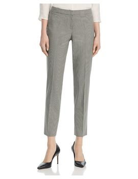 Tiluna Houndstooth Print Pants by Boss