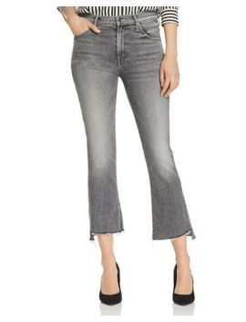 The Insider Step Hem Cropped Flared Jeans In Tag, You're It! by Mother