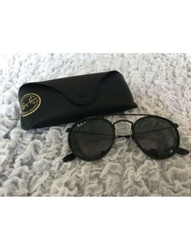 Ray Ban Brand New Round Double Bridge Polarized G15 Lens Sunglasses Prescription by Ray Ban