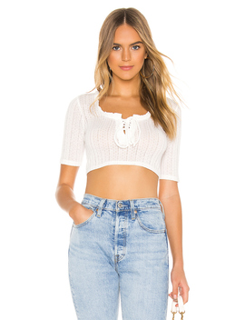Lace Up Short Sleeve Top by Bcb Generation