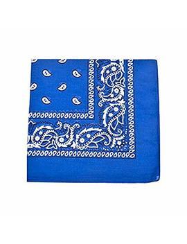 Paisley 100% Polyester Unisex Bandanas   15 Pack   Bulk Wholesale by Balec