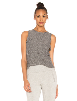 Knot So Fast Cropped Tank by Beyond Yoga