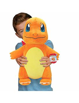 "Pokémon 24\"" Lifesize Charmander Plush Stuffed Animal Toy   Largest Ever Available by Pokemon"