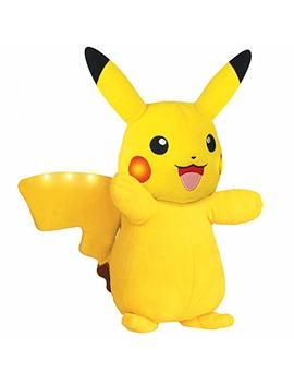 Pokemon Plush, Power Action Interactive Pikachu   Comes With Movement Sensors, Lights And Sounds by Pokemon