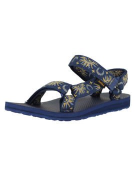 Teva Original Universal Sun And Moon Insignia Blue Womens Ankle Strap Size 8 M by Teva