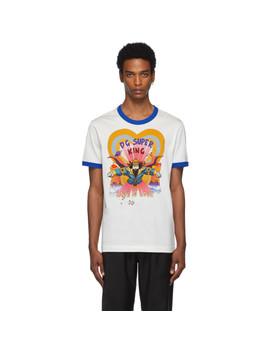 Off White 'dg Super King' T Shirt by Dolce & Gabbana