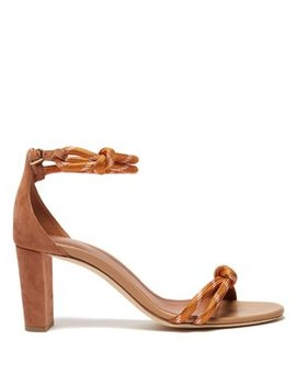 Fenn Rope Strap Suede Sandals by Malone Souliers