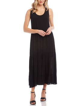 Tiered Midi Dress by Karen Kane