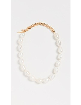 """12"""" Baroque Freshwater Pearl Necklace by Lele Sadoughi"""