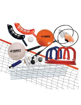 Triumph 5 In 1 Volleyball / Badminton Game Combo by In