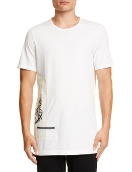 Level Patch T Shirt by Rick Owens Drkshdw