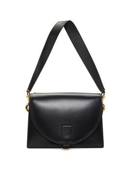 Black New Satchel Hybrid Bag by Sacai
