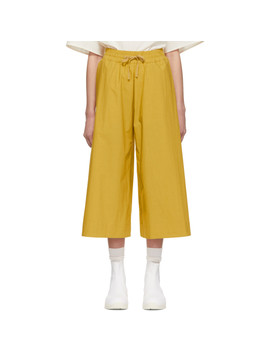 Yellow 'the Boxer' Trousers by Toogood