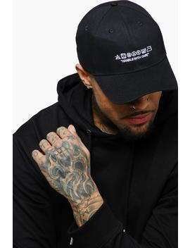 Man Care Label Embroidered Cap by Boohoo