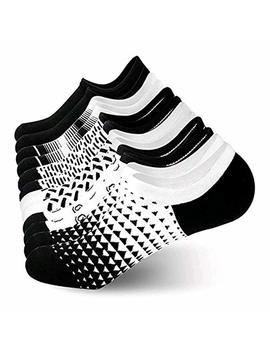 No Show Socks Men Low Cut Cotton Ankle Socks   Invisible Casual Socks Best Gift For Men/Women 8/6 Pack by Jurgen K