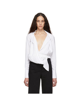White 'la Chemise Figari' Shirt by Jacquemus