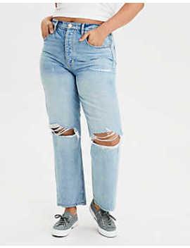 Jeans Adaptados Para Mujer Estilo Década De 1990 by American Eagle Outfitters