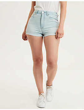 Ae Ne(X)T Level Curvy High Waisted Short Short by American Eagle Outfitters