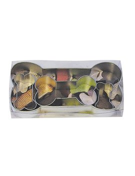 R&M International 1906 Dog Bone Cookie Cutters, Assorted Sizes, 4 Piece Set by R & M International