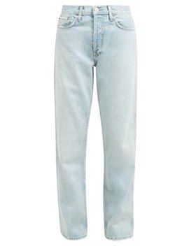 Low Slung Stone Washed Denim Jeans by Re/Done Originals