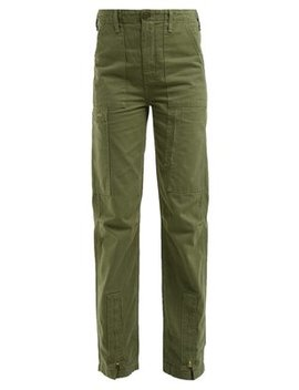High Rise Cargo Trousers by Re/Done Originals