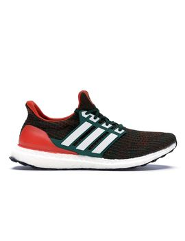 huge discount 8e4ee f6482 adidas Ultra Boost 4.0 Miami Hurricanes