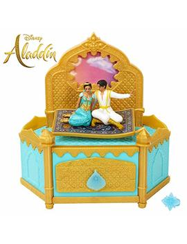 Disney Aladdin Musical Jewelry Box With Ring To Wear! by Disney