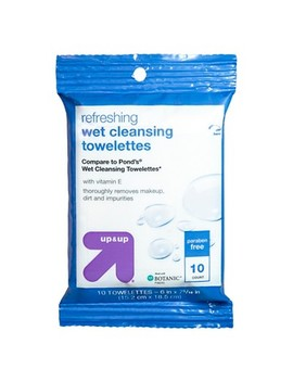 Facial Wipes   10ct   Up&Amp;Up (Compare To Pond's Wet Cleansing Towelettes) by 10ct
