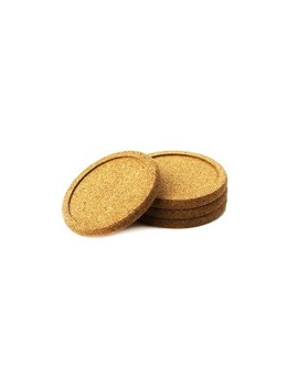 Natural Home 4pk Cork Coasters by Natural Home