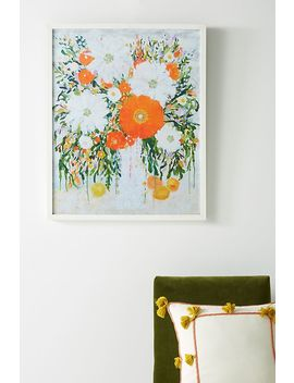 Lemonade, Magnolias, And Lace Wall Art by Artfully Walls